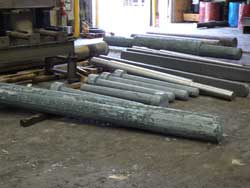 Forged shafts for the power generation industry